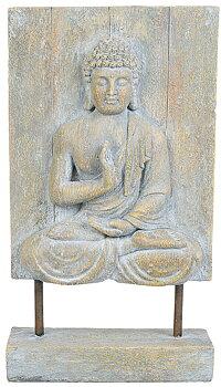 Mediterande Buddha på stativ