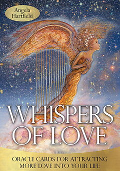 Whispers of Healing Oracle Cards -  Angela Hartfield, Josephine Wall