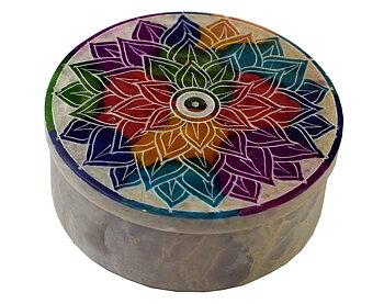 Mandala Såpsten Skrin