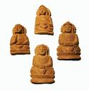 Buddha handsnidad i sandelträ - Mini