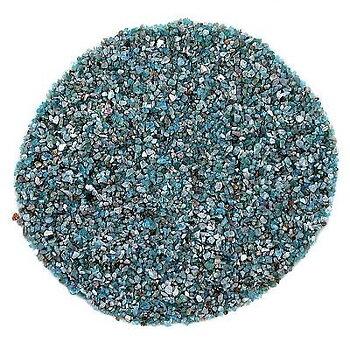 Blå Apatit- Rå - Grus  - 50gram