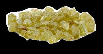 Gul  Apatit- Rå - 7mm Chips