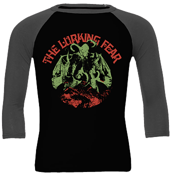 THE LURKING FEAR - Octobat Green Baseball shirt [PRE-ORDER]