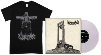 DISRUPTED - Pure Death LP + Priest Stigmata T-shirt [PRE-ORDER]
