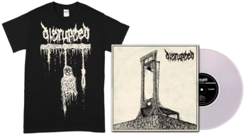 DISRUPTED - Pure Death LP + Hanging T-shirt [PRE-ORDER]