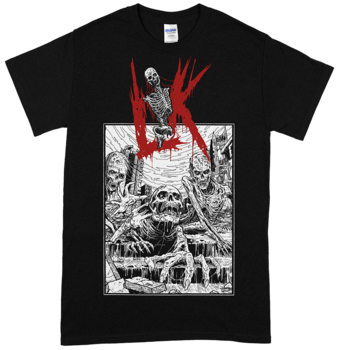 LIK - Misanthropic Breed Black T-shirt [PRE-ORDER]