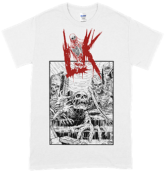 LIK - Misanthropic Breed White T-shirt [PRE-ORDER]