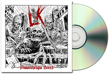 LIK - Misanthropic Breed Digipack CD [PRE-ORDER]