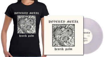 HENRIK PALM - Poverty Metal LP + Girlie  [PRE-ORDER]