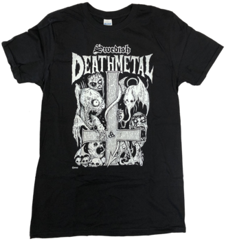Swedish Death Metal - Svart T-shirt