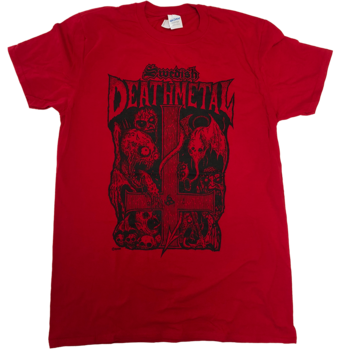 Swedish Death Metal - Röd T-shirt