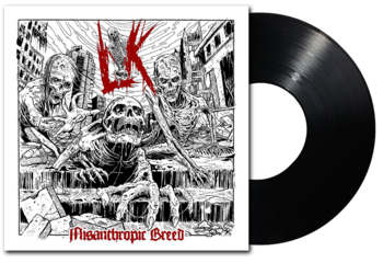 LIK - Misanthropic Breed LP SVART VINYL