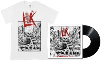 LIK - Misanthropic Breed BLACK LP + T-shirt [PRE-ORDER]