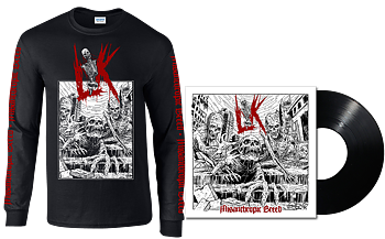 LIK - Misanthropic Breed BLACK LP + Longsleeve [PRE-ORDER]