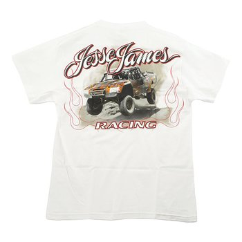 "JESSE JAMES T-SHIRT "" FRÅN WESCOAST CHOPPERS"" VIT, MEDIUM"