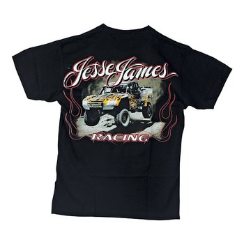 "JESSE JAMES T-SHIRT "" FRÅN WESCOAST CHOPPERS"" SVART,  2 XL"