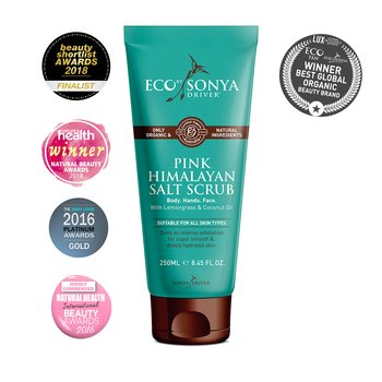 Eco by Sonya Himalayan Pink Salt Scrub 175ml