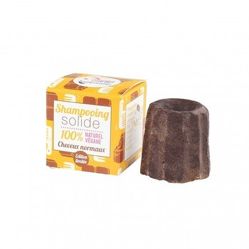LAMAZUNA Solid Chocolate Shampoo for normal hair 55g