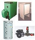 Pelletseldat värmesystem. 20 kW