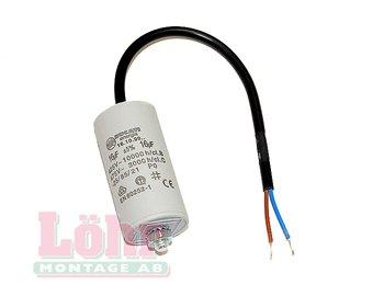 Kondensator 1,5 µF med kabel