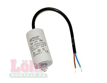 Kondensator 4µF med kabel