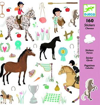 Klistermärken Hästar