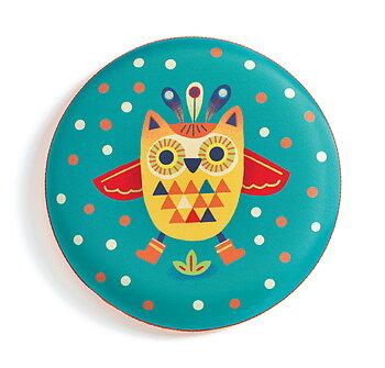 Frisbee flygande uggla