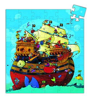 Pussel från Djeco Barbarossa´s Båt