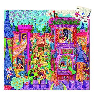 Pussel från Djeco, Fairy castle