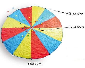 Utomhuslek Parachute