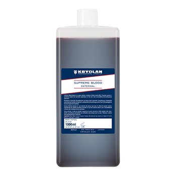 Supreme Blood External  DARK Venblod  1000 ml - Kryolan