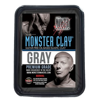 Monsterclay Medium GREY 2,27 kg - Monster Makers