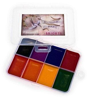 Bluebird FX Palett - Brights - 8 färger