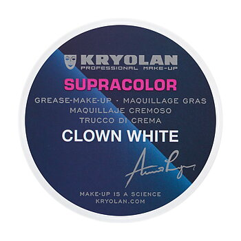 Supracolor Clown White 80 gr - Kryolan
