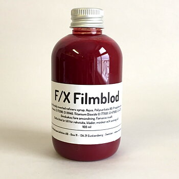 F/X Filmblod Mörkt Venblod 100 ml