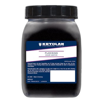 Flocking 50gr Black - Kryolan
