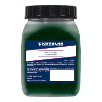 Flocking 50gr Dark Green - Kryolan