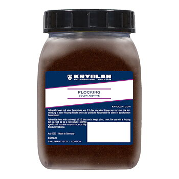 Flocking 50gr Medium Brown - Kryolan