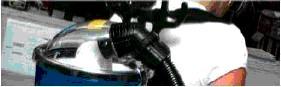 Ryggdammsugare PacVac, batteridriven 24VDC