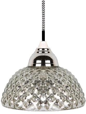 Lampa kotte i fattigmanssilver  kottelampa. Shabby chic lantlig stil.