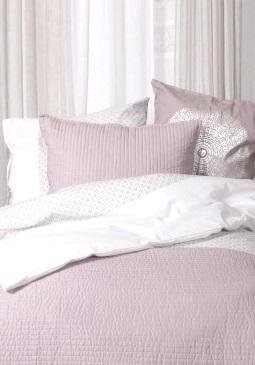 Överkast quilt rosa 2 storlekar shabby chic lantlig stil