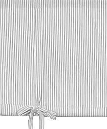 Knythissgardin randig grå