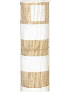 Bredrandig sandfärgad matta metervara Nyblom Kollen