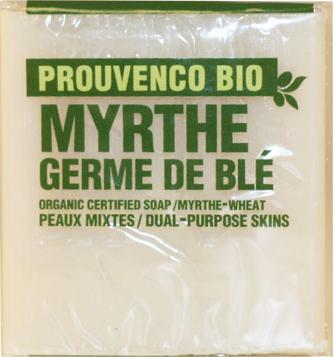 Fransk tvål Myrten vetegroddsolja provence biologisk essentiella oljor