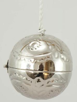 Kula silver öppningsbar shabby chic lantlig stil