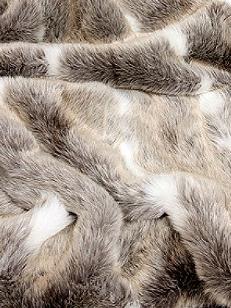 Kuddfodral päls renskinn shabby chic lantlig stil