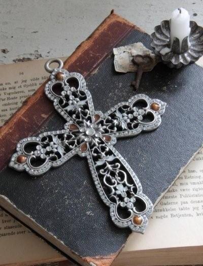 Cross kors shabby chic Jeanne d´Arc Living