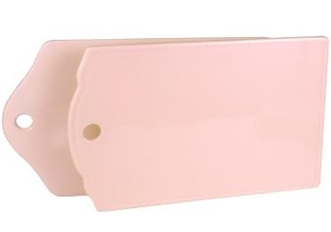 2 set Skärbräda rosa porslin