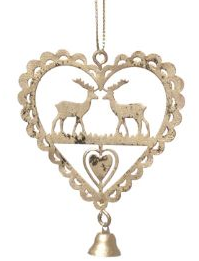 Ornament Hjort shabby chic lantlig stil