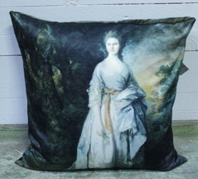 Kuddfodral Lady Eardley shabby chic lantlig stil